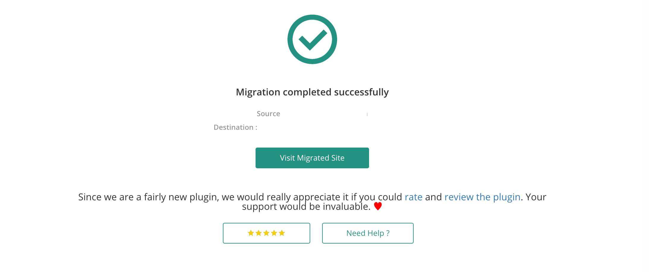migrate wordpress website from one domain to another